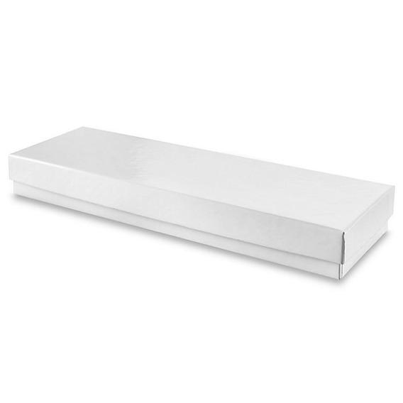 100 Cajas Color Blanco Brillosas Para Reloj De Mujer Joyas