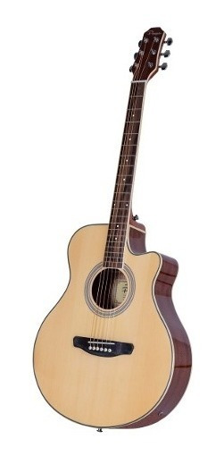 Guitarra Electroacústica Parquer Master Media Caja Cuotas