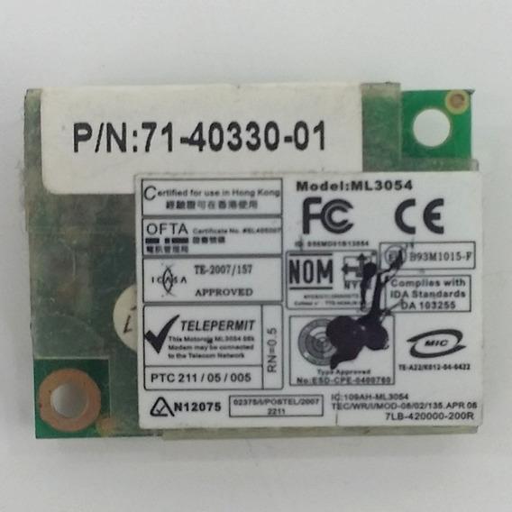 Placa Modem Motorola Itautec P/n 71-40330-01