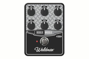 Waldman Bog-6fx Pedal Distortion Boogie Woogie