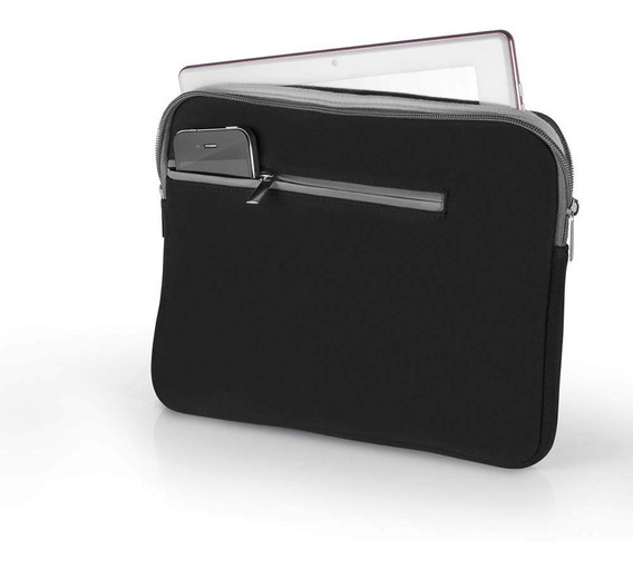 Capa Case Neoprene Notebook 15,6 Polegadas Preto Multilaser