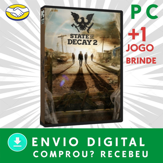 State Of Decay 2 Pc Digital + State Of Decay 1