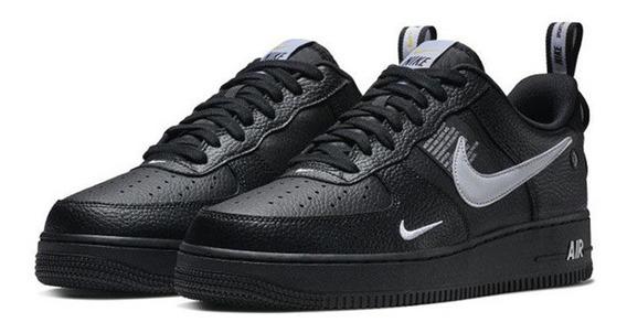 Nike Air Force 1 Utility Black Negro Originales