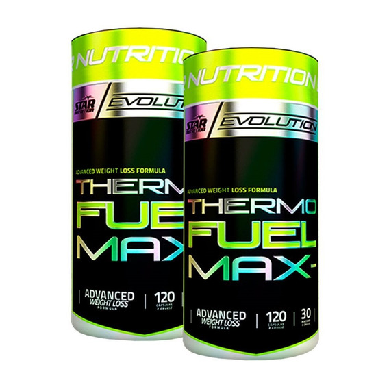 Thermo Fuel 120 X 2 Un. Star Nutrition Quemador De Grasa Adn