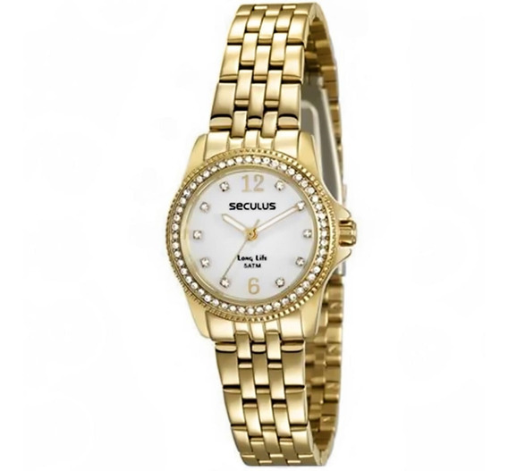 Relógio Feminino Seculus 28846lpsvda1
