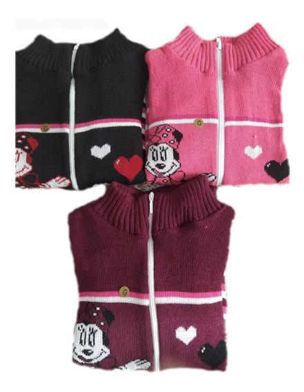 Kit 3 Blusas Infantis Menina Jaqueta Promoção
