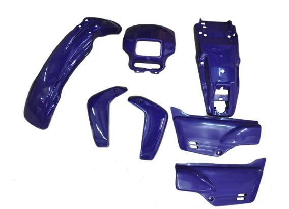 Kit De Carenagem - Xlr 125 Azul 97 - Sem Adesivo - 7 Peças