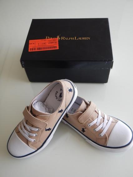 Sapatênis Ralph Lauren Infantil 28 29 Menino Tênis Sapato