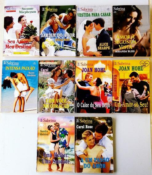 Romance Sabrina Julia Abril 10 Livro Antigo Raro Promoção