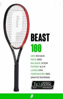 Raqueta Prince Teextreme Beast 100