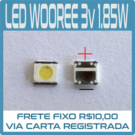 Kit 20 Led 3535 Wooree 3v 1.85w Samsung Fh Original