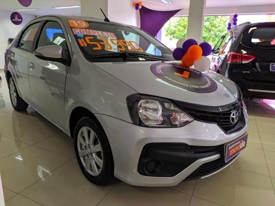 Etios 1.5 X Plus Sedan 16v Flex 4p Manual 36797km