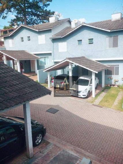 Excelente Casa Para Locação Condomínio Bel Villagio - Vila São Luiz (valparaízo) - Barueri 110m² - Confira! - Ca2011
