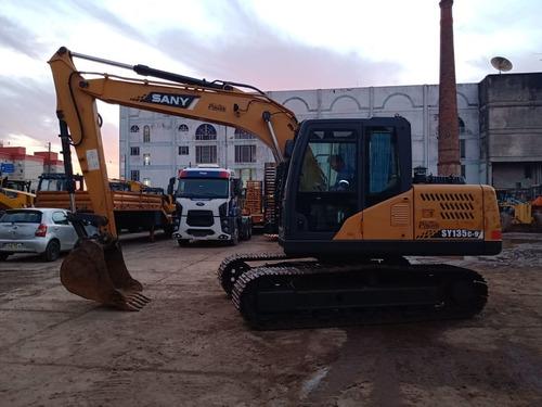 Escavadeira Sany* Sy135c-9  14 T Ano 2015 8643 Hs  Repasse