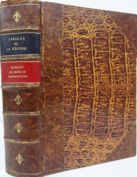 Fábulas De La Fontaine - Barão De Paranapiacaba - 1ª Edição