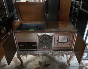 Radio Vitrola Antiga Valvulada 1950