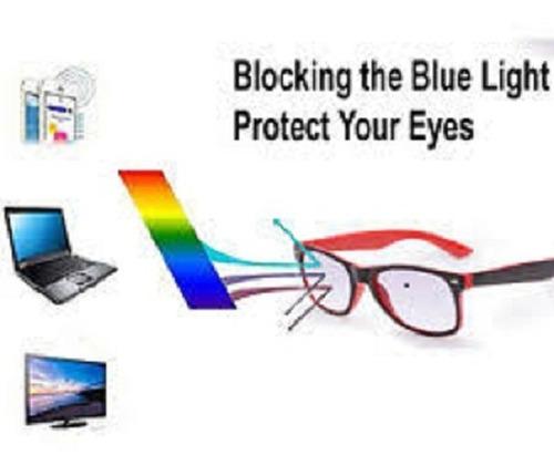 Imagen 1 de 2 de Cristales Vision Simple Antireflejos Y Bloqueo De Luz Azul