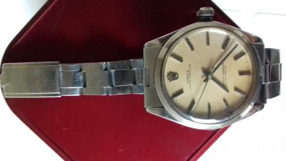 Relogio Rolex Corda Antigo Raridade Luxo Impecavel Aço