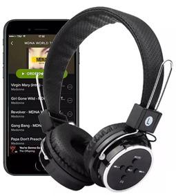 Fone De Ouvido Bluetooth Cor Preto