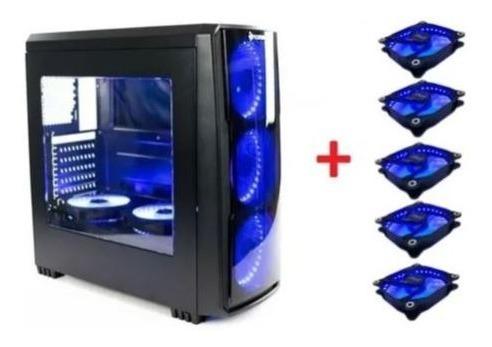 Kit 8gb+hd+mãe+ Processador E Gabinete Gamer