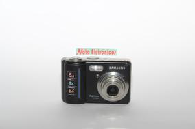 Câmera Digital Samsung S500, Com Defeito.