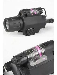 Lanterna Tática M6 Red Dot Airsoft Polícia Promoção