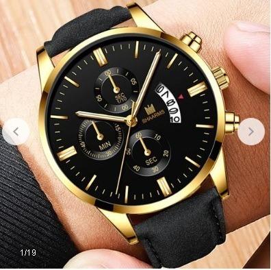 Relogio Masculino Quartzo Relógios Mens De Luxo Faus