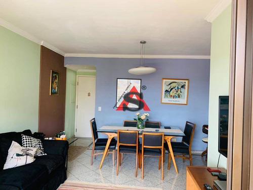 Imagem 1 de 13 de Apartamento Com 3 Dormitórios Para Alugar, 85 M² Por R$ 3.000,00/mês - Vila Mariana - São Paulo/sp - Ap43646