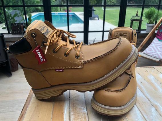 Borcegos Botas Levis Harvey Oily Fashion Boot Hombres