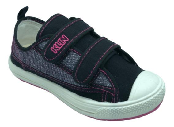 Tenis Infantil Klin Replay 471068 Bebe Velcro Anatomico