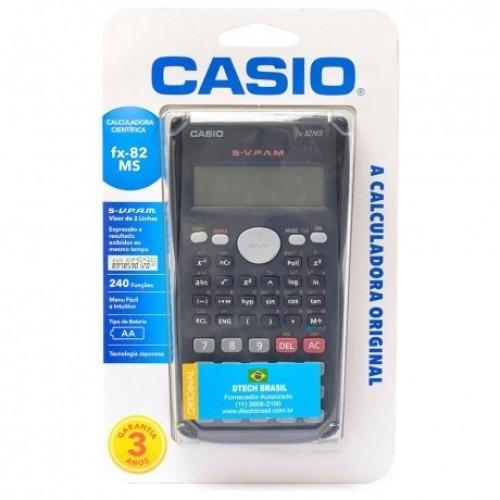 Calculadora Científica Original Casio 240 Funções Faculdade