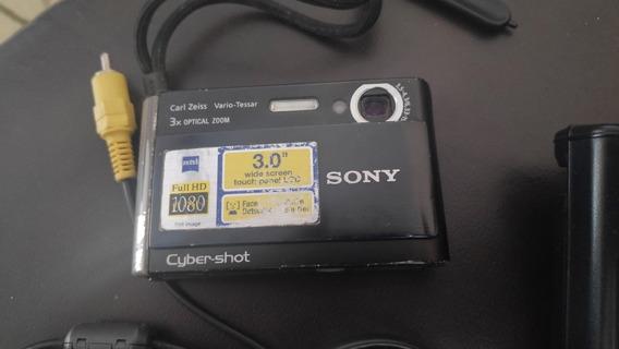Câmera Digital Sony Dsc T70 Com Defeito