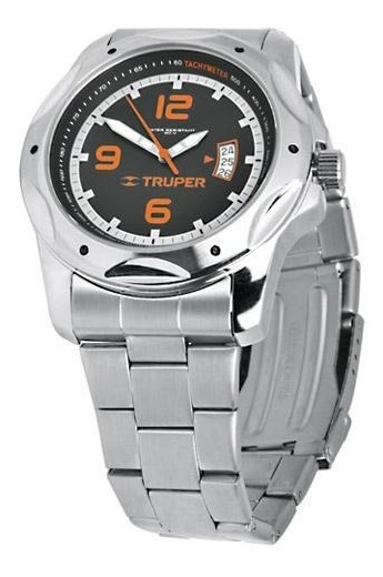 Reloj Caballero Correa Ace. Inox. Truper 60072