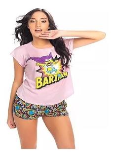 Pijama Remera Short Bartman Simpsons Ts1050