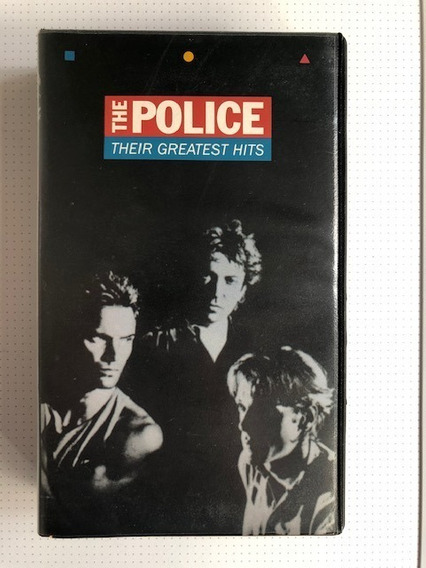 Vhs The Police - Their Greatest Hits