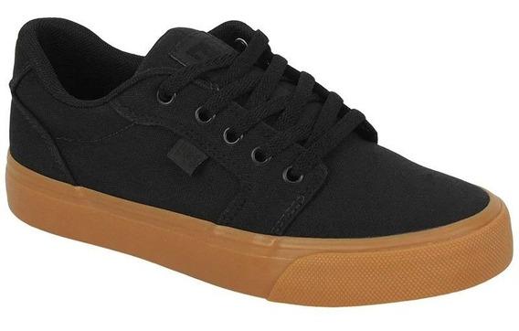 Tênis Dc Shoes Anvil Tx La Black Black Gum - Promoção