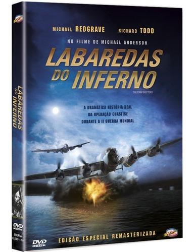 Dvd Labaredas Do Inferno Michael Redgrave Guerra Aérea 1955+