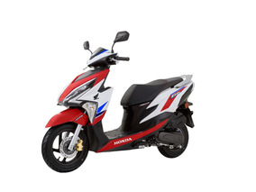 Honda New Elite Fi 125 Tricolor Honda Guillon Redbikes *