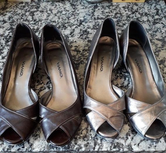 Zapatos Marca Viamo Los Dos Por 800$