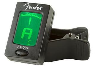 Fender Clipon Tuner Ft004 Para Guitarra Ukulel