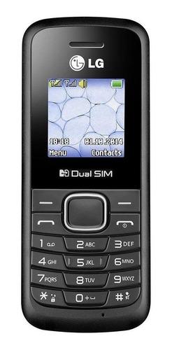 Imagem 1 de 3 de LG B220A Dual SIM 32 MB preto 32 MB RAM
