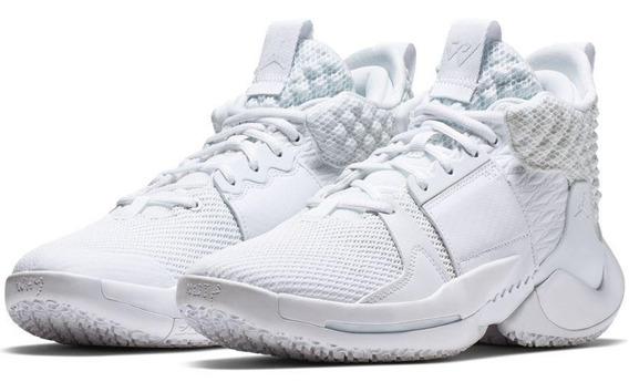 Air Jordan Why Not Zero .2 Triple White Michael Jordan