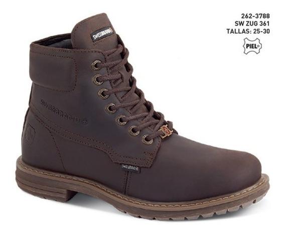 Zapato Swissbrand Zug P/ Hombre Tallas 25-30 Mx