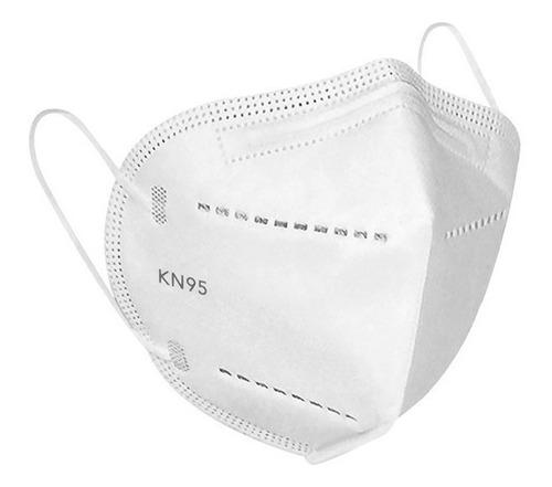 Kit 10 Máscaras Respiratória Proteção Facial 5 Camadas Kn95