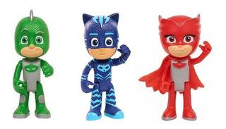 Heroes En Pijama Pj Mask Muñeco Articulado 8 Cm Original