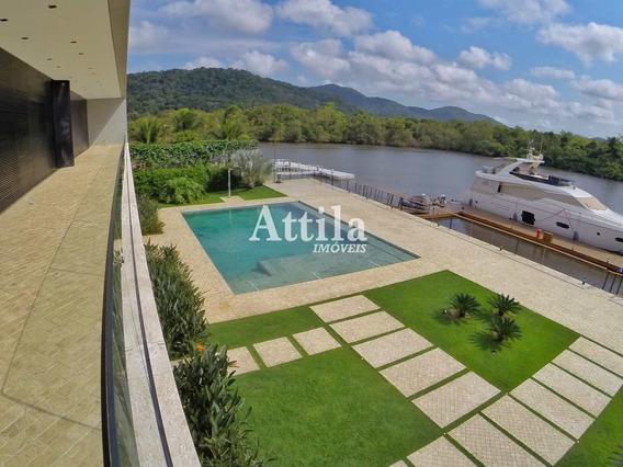 Casa De Alto Padrão Marina Guarujá, Pier 185,06m² - 6 Suítes - A1112