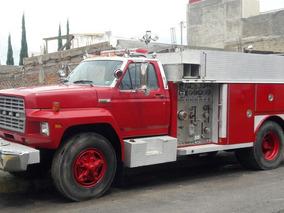 Camion De Bomberos, Ford E-one, Caterpillar, Todo Equipado