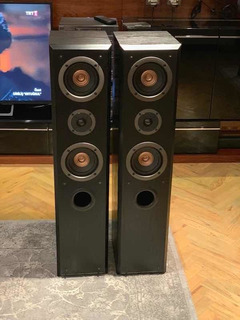 Columnas Bafles Technics Sb-t200 Inmaculadas Made In Usa !!