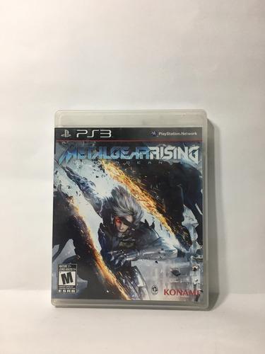 Metal Gear Rising Ps3 Usado