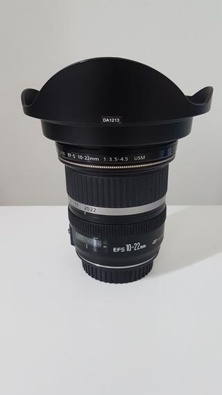 Lente Canon 10-22 Mm